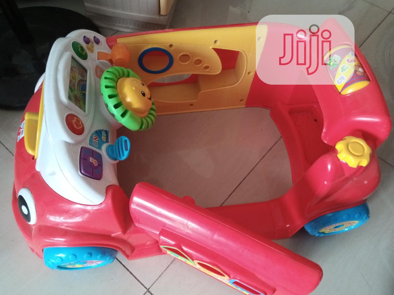 Fisher Price Car ( Children's Crawl Around Car)