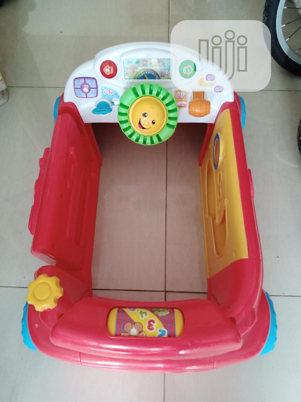 Fisher Price Car ( Children's Crawl Around Car)   Babies & Kids Accessories for sale in Ikeja, Lagos State, Nigeria