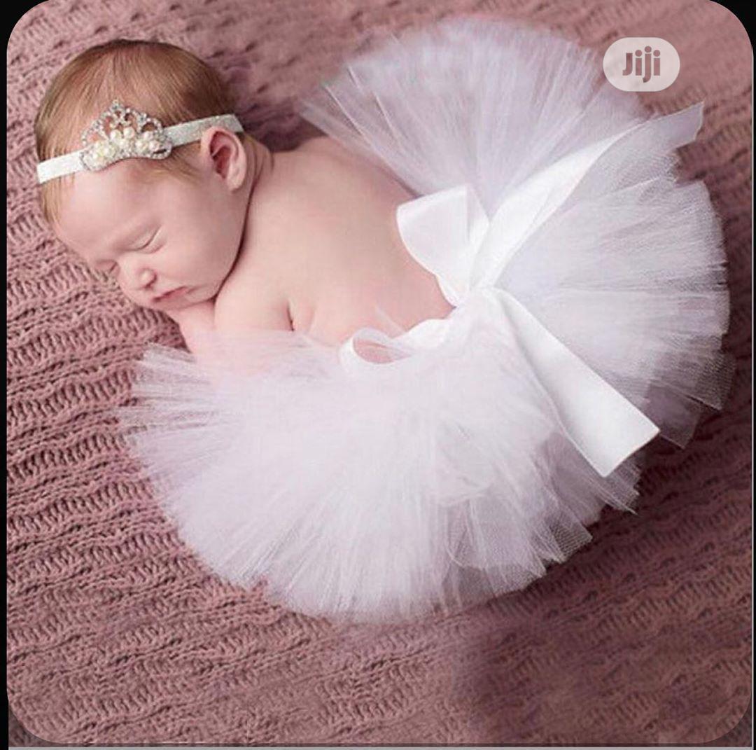 Baby Tutu Skirt And Hairband