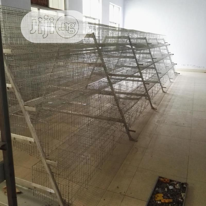 China Factory Battery Cage Poultry Battery Cages Best Quality Cages | Farm Machinery & Equipment for sale in Lagos State, Nigeria