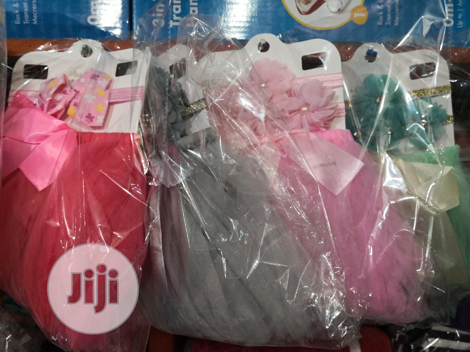 Baby Tutu Skirt And Hairband | Children's Clothing for sale in Alimosho, Lagos State, Nigeria
