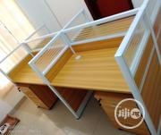 Brand New Quality Workstation Table 4 In One It Is Strong And Relable   Furniture for sale in Lagos State, Ikoyi