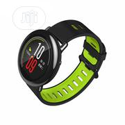 Sports Silicone Bt Strap Band For Xiaomi Huami Amazfit A1602 GN- Green | Smart Watches & Trackers for sale in Lagos State, Ikeja
