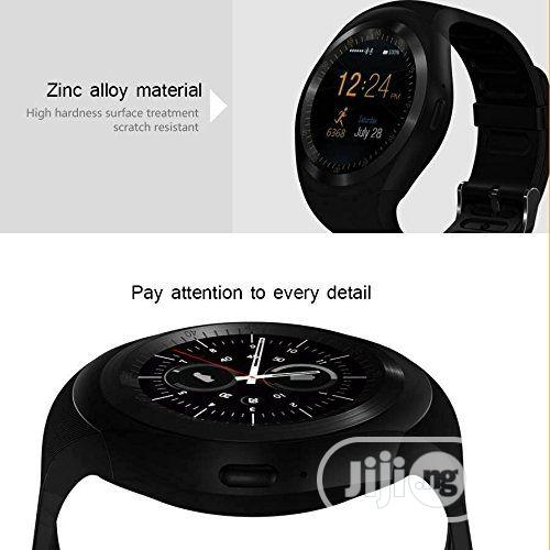 Skmei Smart Watches GSM Sim Remote Camera Display Sport Wristwatch | Smart Watches & Trackers for sale in Ikeja, Lagos State, Nigeria