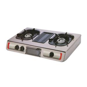 Akai Table Double Gas Cooker With Grill   Kitchen Appliances for sale in Oyo State, Ido