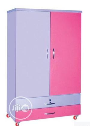 A Brand New Children Pink And White Wardrobe | Children's Furniture for sale in Lagos State, Oshodi