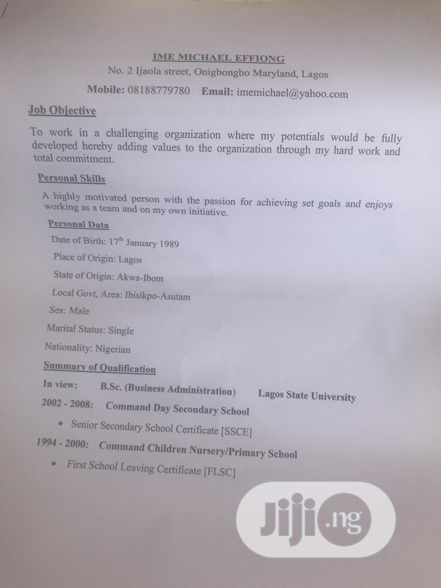 Restaurant & Bar CV | Restaurant & Bar CVs for sale in Ikeja, Lagos State, Nigeria