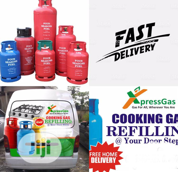 Cooking Gas Refilling At Your Doorstep | Other Services for sale in Lekki, Lagos State, Nigeria