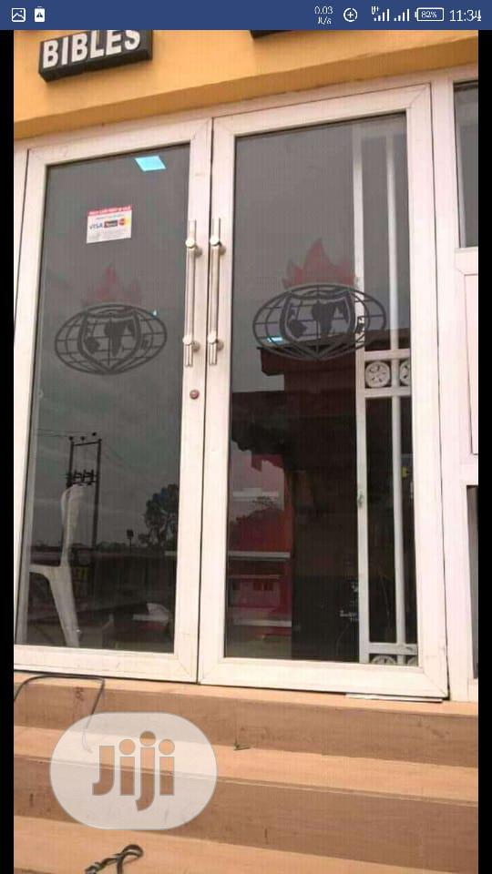 Aluminum Glass Door | Doors for sale in Asokoro, Abuja (FCT) State, Nigeria