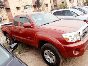 Toyota Tacoma 2007 Red   Cars for sale in Lagos State, Isolo