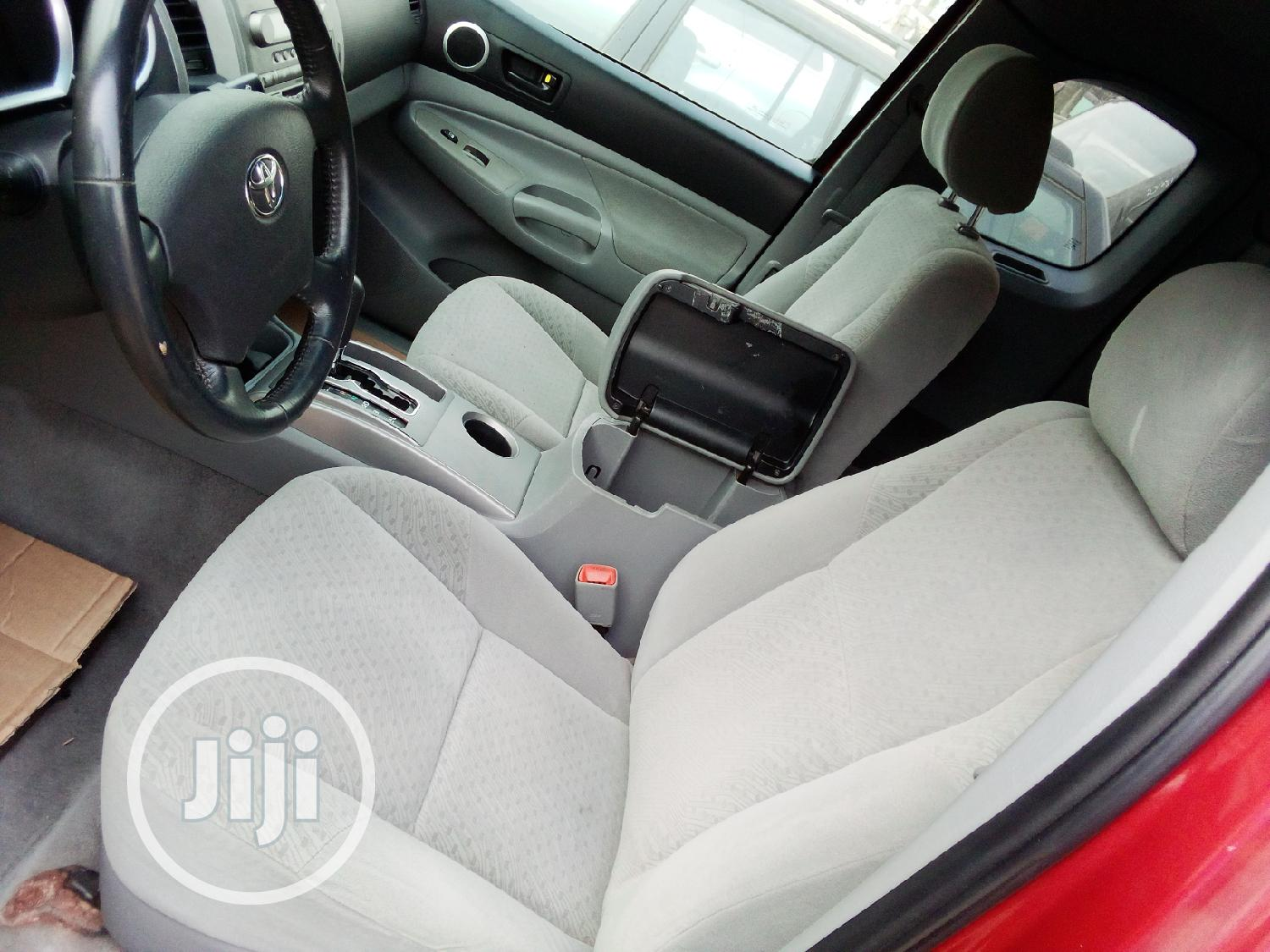 Toyota Tacoma 2007 Red | Cars for sale in Isolo, Lagos State, Nigeria