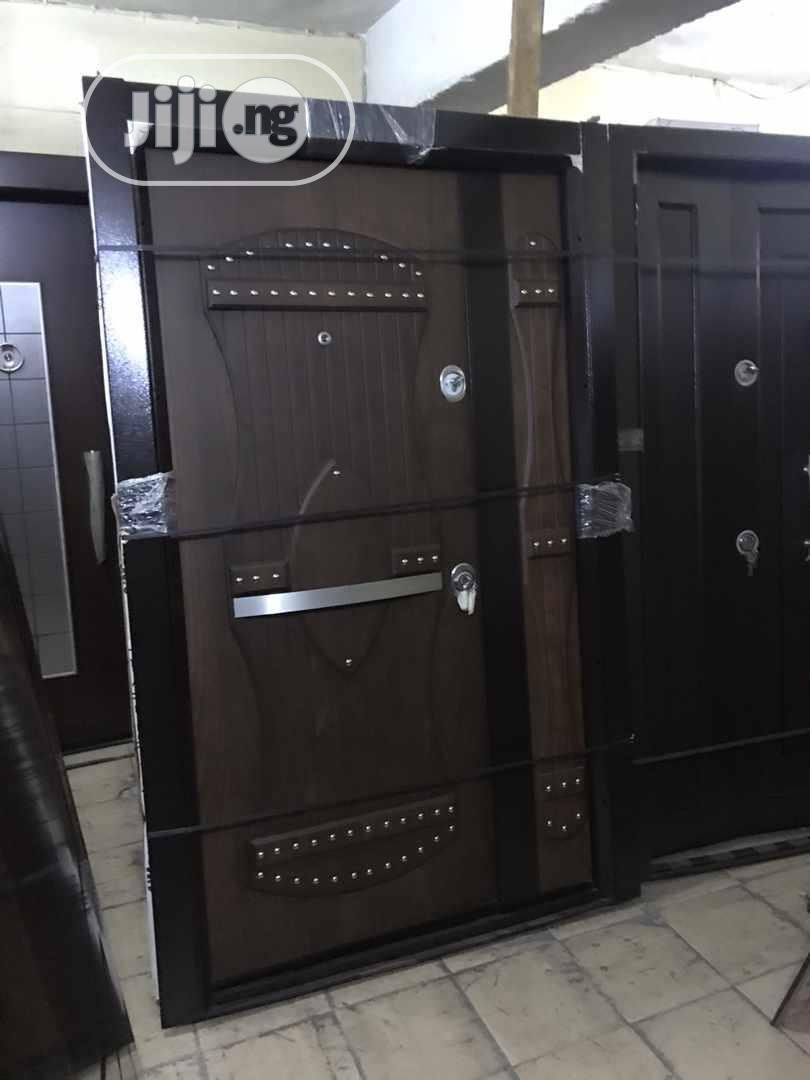 4ft Turkish Security Luxury Armored Butoon Door