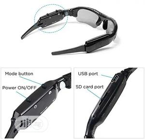 HD Mini Wearable Surveillance Hidden Camera Sunglasses   Security & Surveillance for sale in Lagos State, Ikeja