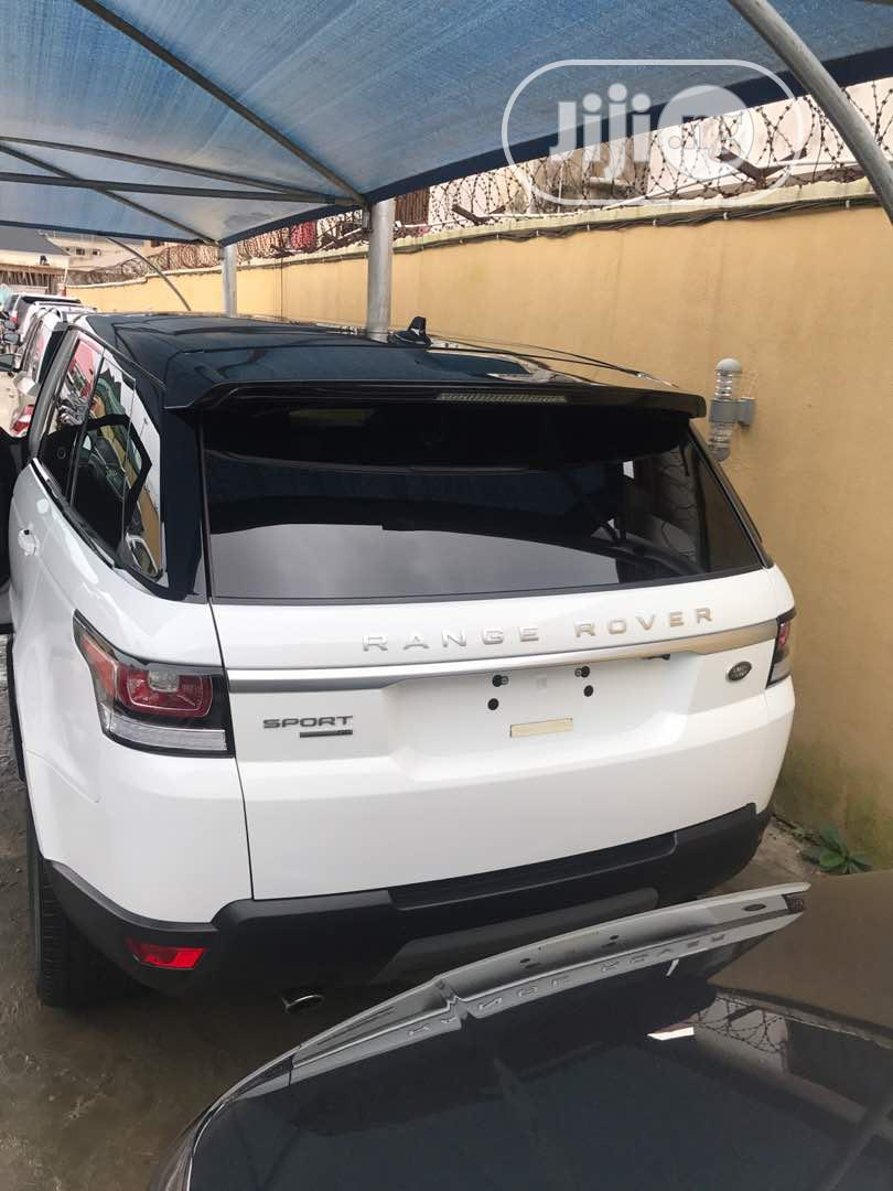 Land Rover Range Rover Sport 2016 SE 4x4 (3.0L 6cyl 8A) White | Cars for sale in Maryland, Lagos State, Nigeria