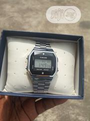 Casio Silver Top Quality Men's Watch   Watches for sale in Lagos State, Agboyi/Ketu