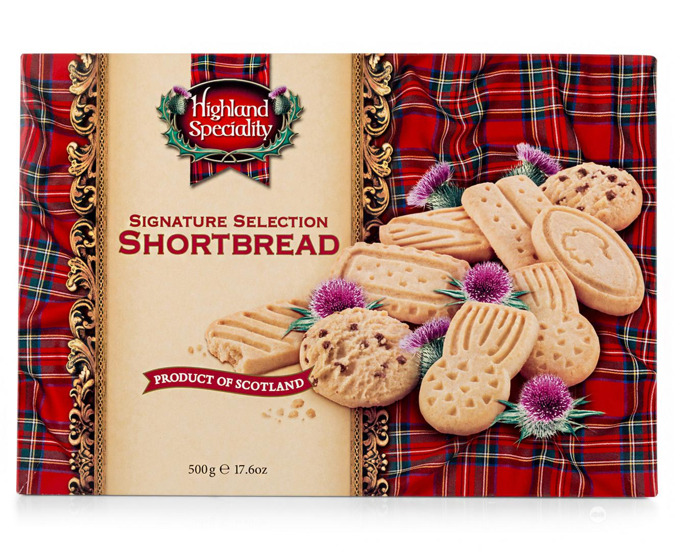 Highland Speciality Shortbread Signature Selection 500g