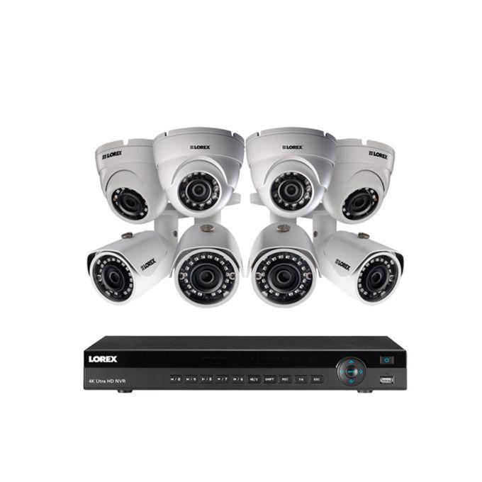 Archive: CCTV 4MP AHD Camera 4 Indoor + 4 Outdoor Camera + One 8channel DVR