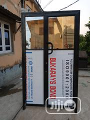 Aluminium Entrance Door | Doors for sale in Lagos State, Ifako-Ijaiye