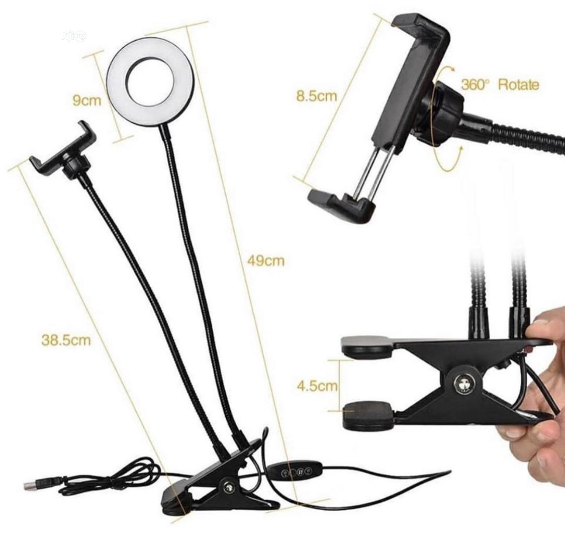Table Top Selfie Ring Light   Accessories for Mobile Phones & Tablets for sale in Lagos Island (Eko), Lagos State, Nigeria