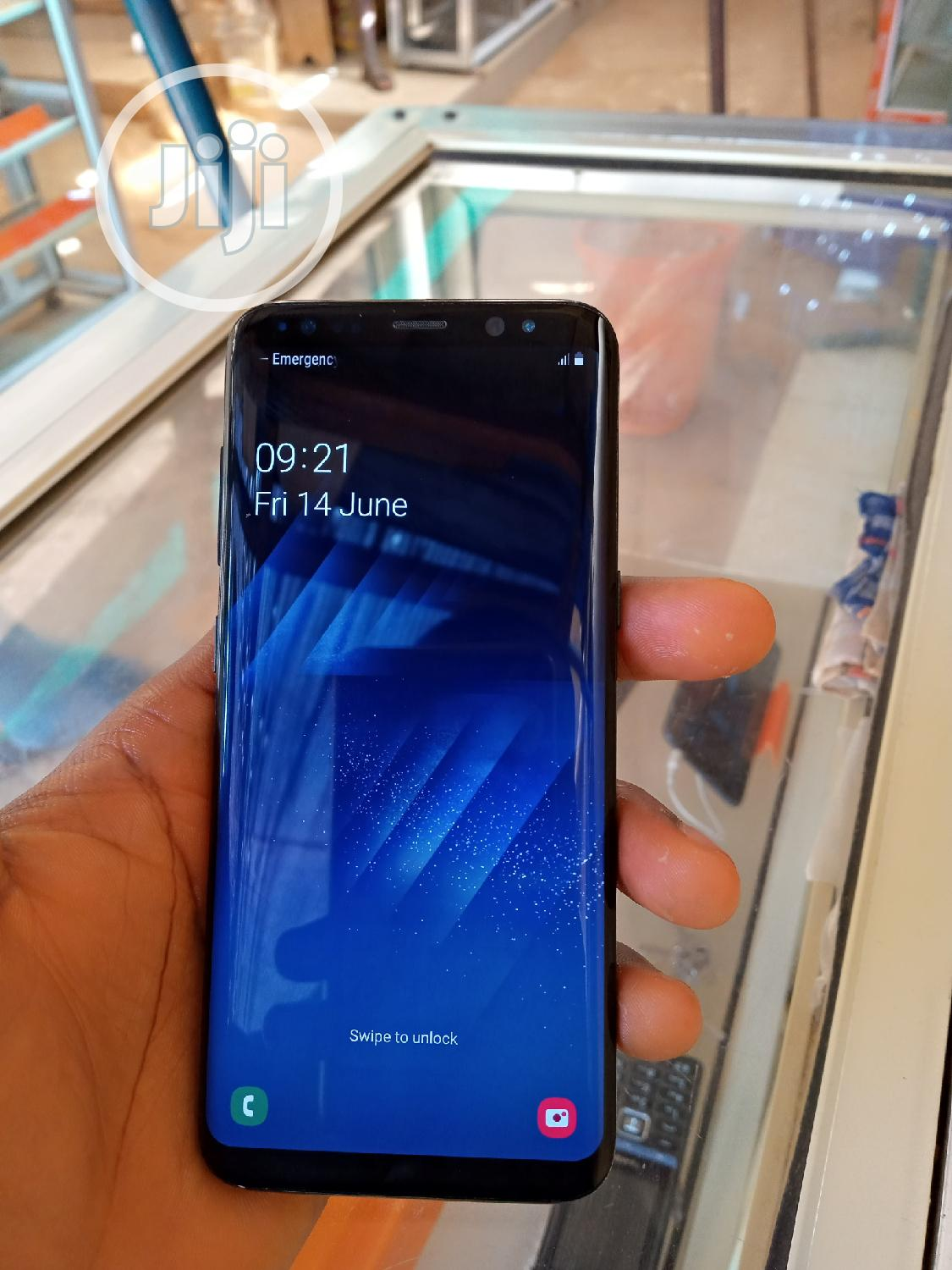 New Samsung Galaxy S8 64 GB Black | Mobile Phones for sale in Central Business Dis, Abuja (FCT) State, Nigeria