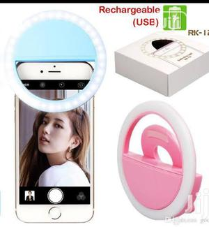 Selfie Ring Flash Recharable | Accessories & Supplies for Electronics for sale in Lagos State, Lagos Island (Eko)