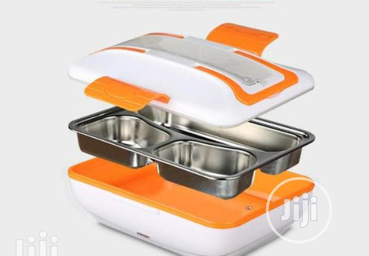 Electric Lunch Box Stainless | Kitchen & Dining for sale in Lagos Island (Eko), Lagos State, Nigeria