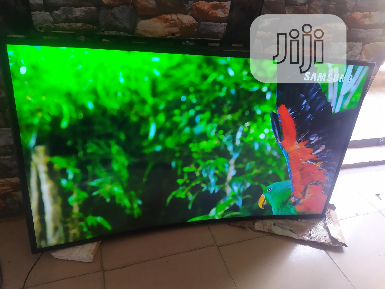 "49"" Samsung Curved Smart 4K UHD Smart Satellite TV | TV & DVD Equipment for sale in Ikeja, Lagos State, Nigeria"