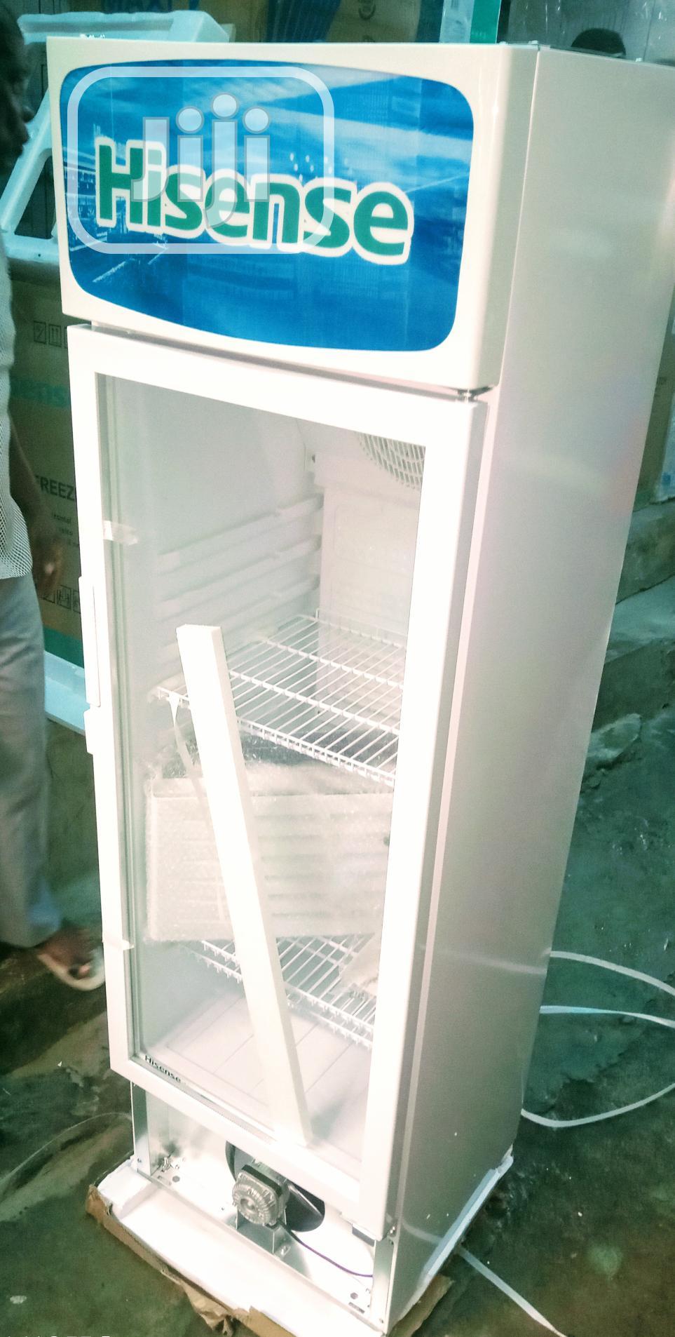 Hisense Chiller Standing Show Case 350L + Auto Cool
