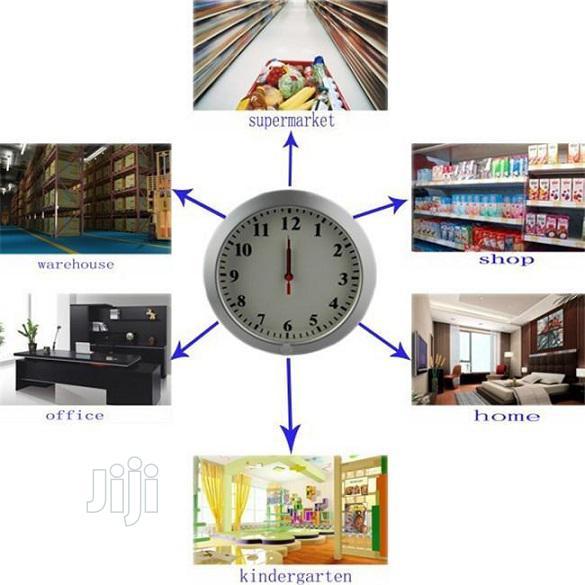 Multi-functional Wifi Clock With Hidden Surveillance Camera