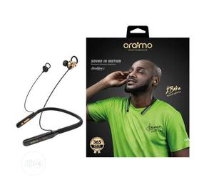 Oraimo Bluetooth Neckband (2baba Tuned Edition - Necklace 2) | Headphones for sale in Lagos State, Ikeja