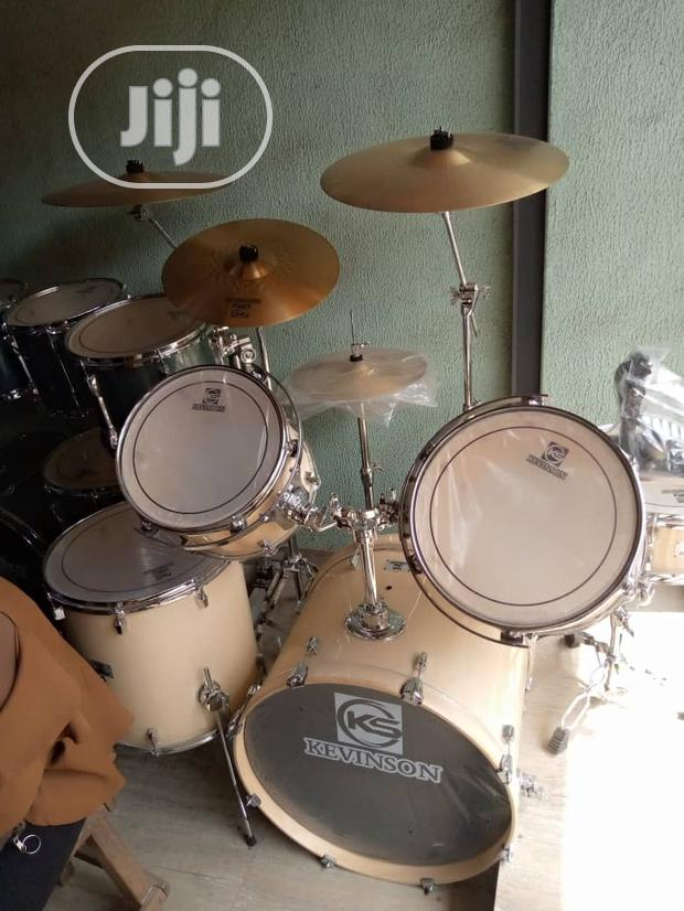 Professional Drum 5 Set With Double Cymbal (Kevinson)