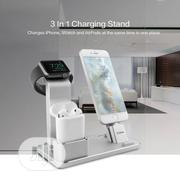 4 in 1 Mobile Phone Stand Desk Charge Dock Station Bracket Cradle Stan | Accessories for Mobile Phones & Tablets for sale in Lagos State, Ikeja