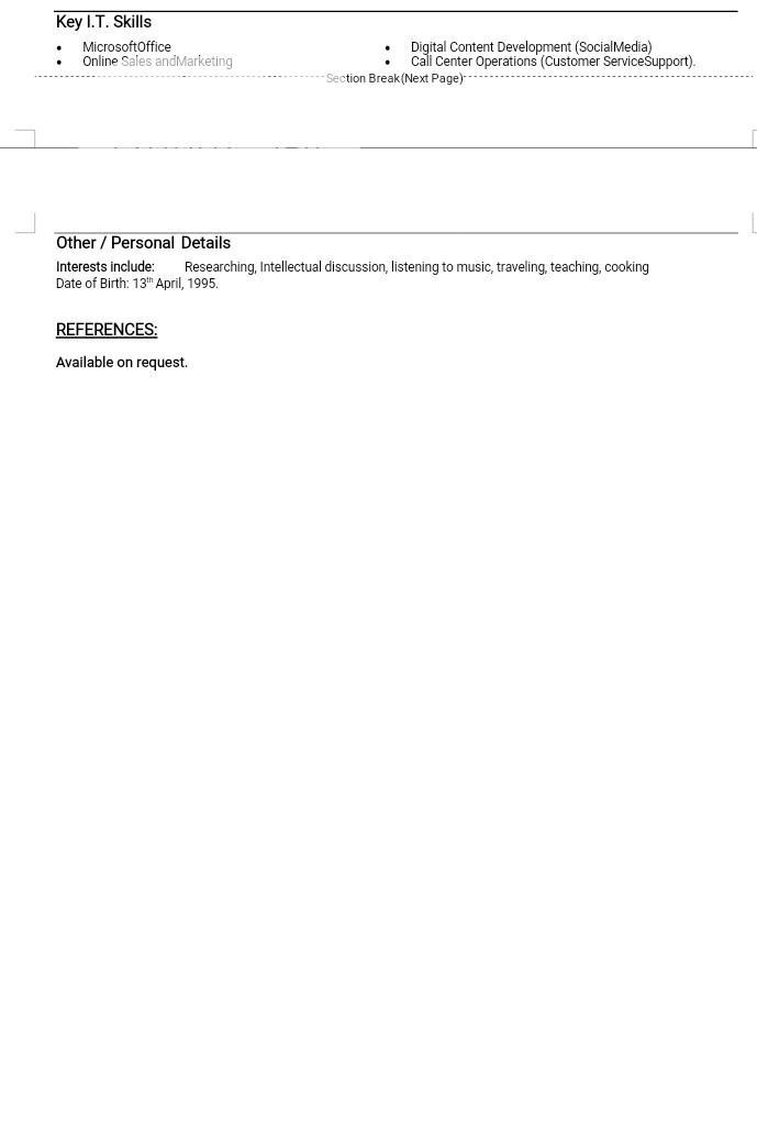 Customer Service Representative | Customer Service CVs for sale in Wuse, Abuja (FCT) State, Nigeria