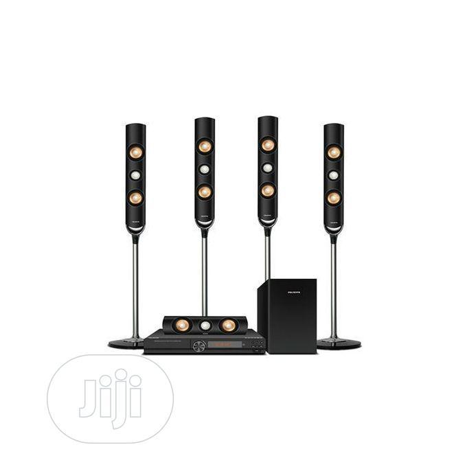 Polystar Home Theatre:5.1 Channel Music System PV-EL616- Black