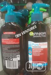 Garnier Pure Active Intensive Anti-Blackhead Charcoal Gel Wash, 200 Ml | Skin Care for sale in Lagos State, Amuwo-Odofin