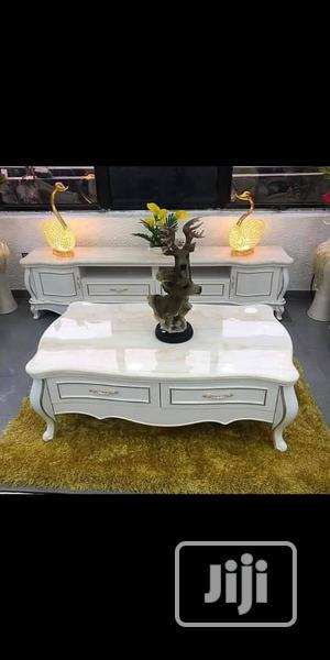 Brand New Imported Set Of Royal Center Table And TV Stand. | Furniture for sale in Lagos State, Ojo