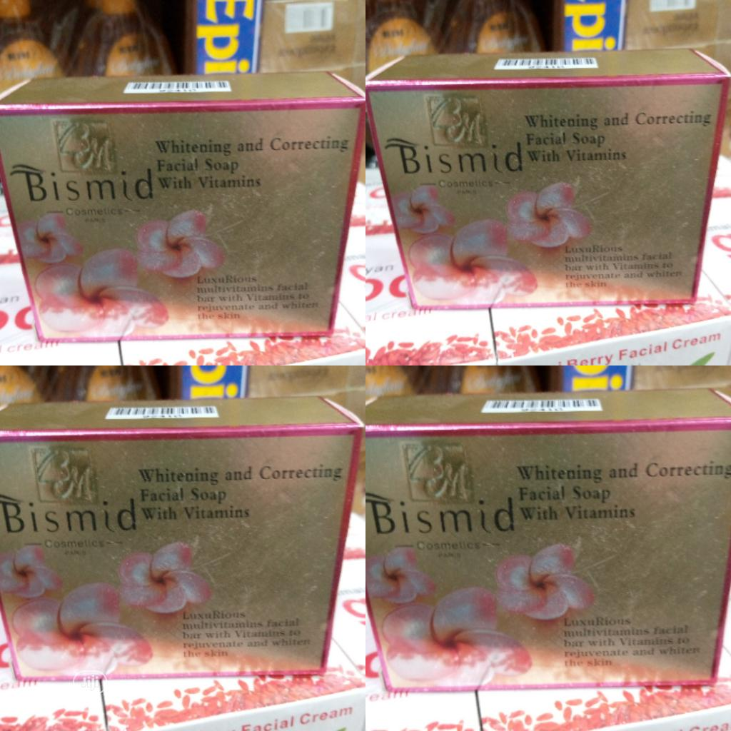 Bismid Facial Whitening Soap With Vitamin E(Not in a Pack)