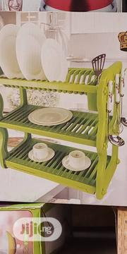 3 Layers Plastic Plates Rack | Kitchen & Dining for sale in Oyo State, Ido