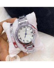 Classic Unisex Cartier Wristwatch With Bracelet | Jewelry for sale in Lagos State, Lagos Island