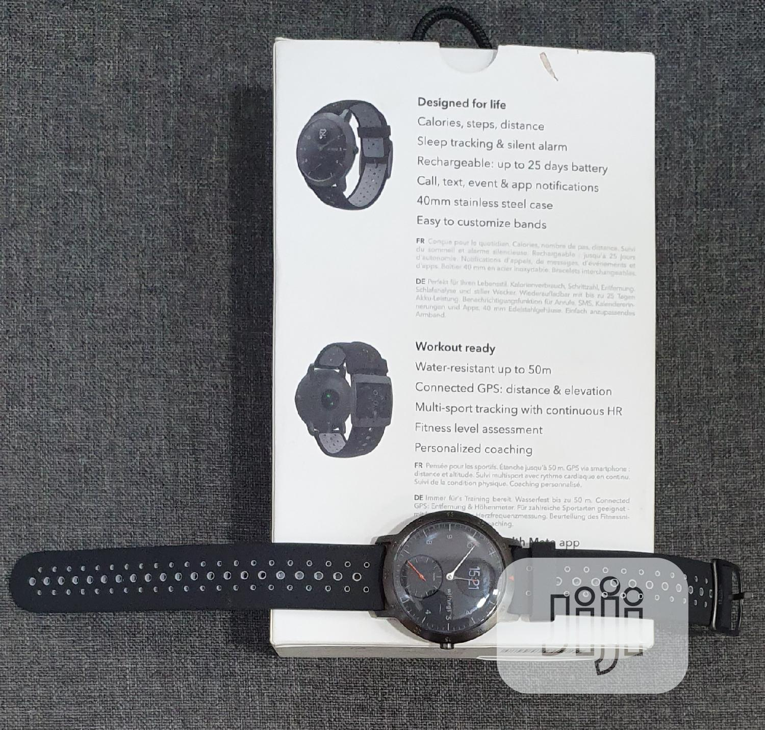 Withings Multi Sport Hybrid Smart Watch   Smart Watches & Trackers for sale in Ikeja, Lagos State, Nigeria