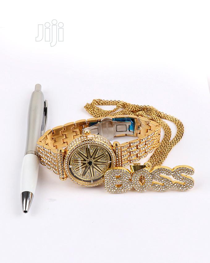 Best Men Rolling Watch Very With Chain and Pen