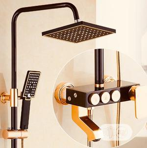 Standing Shower(Black And Gold)   Plumbing & Water Supply for sale in Lagos State, Orile