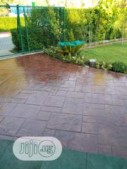Concrete Stamps Floor And Good Service | Landscaping & Gardening Services for sale in Lagos State, Lekki Phase 1
