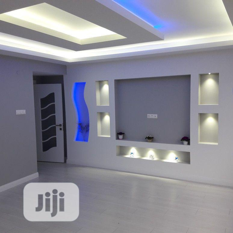 Pop Tv Wall Design And Interior Decorations | Building & Trades Services for sale in Lagos Island (Eko), Lagos State, Nigeria