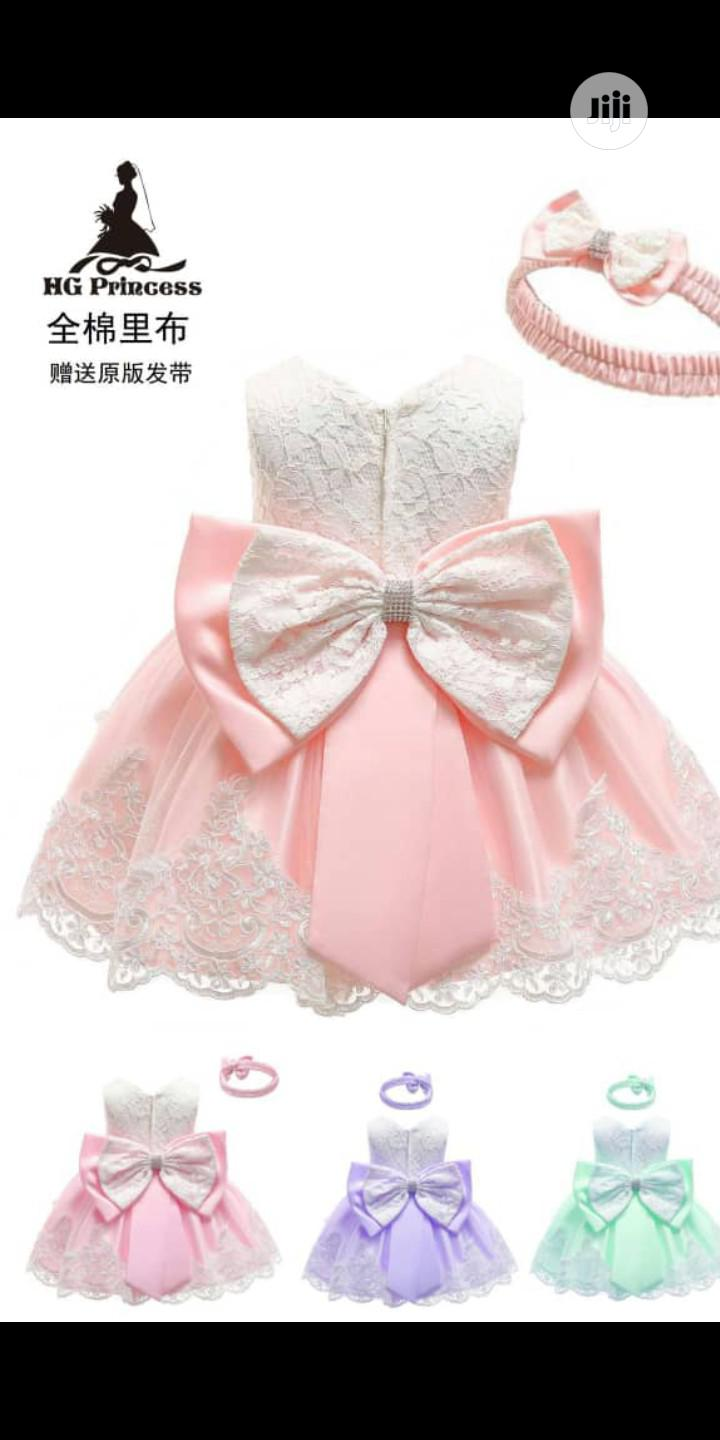 Cute Baby Girl Gown