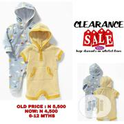 Old Navy 2pck Hooded Romper Set (12-18 Mths) | Children's Clothing for sale in Lagos State, Ikeja
