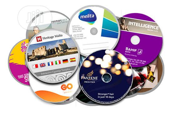 Print And Duplicate On CD/DVD | Printing Services for sale in Ikeja, Lagos State, Nigeria