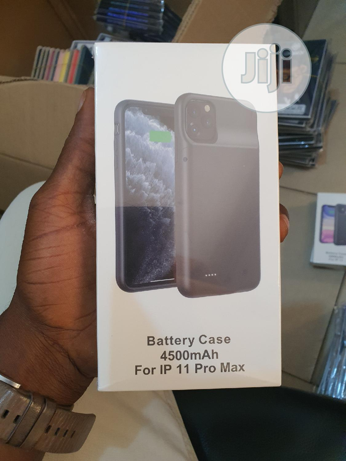 Battery Case For iPhone 11 Pro Max 4500mah   Accessories for Mobile Phones & Tablets for sale in Ikeja, Lagos State, Nigeria