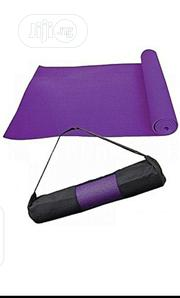Purple Color Yoga Mat With Carrier Bag   Sports Equipment for sale in Lagos State