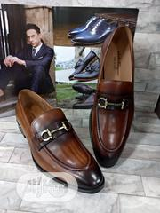 Quality Ferragamo Brown Leather Men's Shoe Available Just for You. | Shoes for sale in Lagos State, Lagos Island